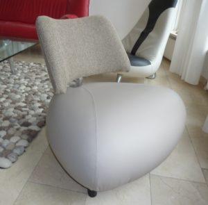 Opnieuw bekleed: Leolux, fauteuil Pallone